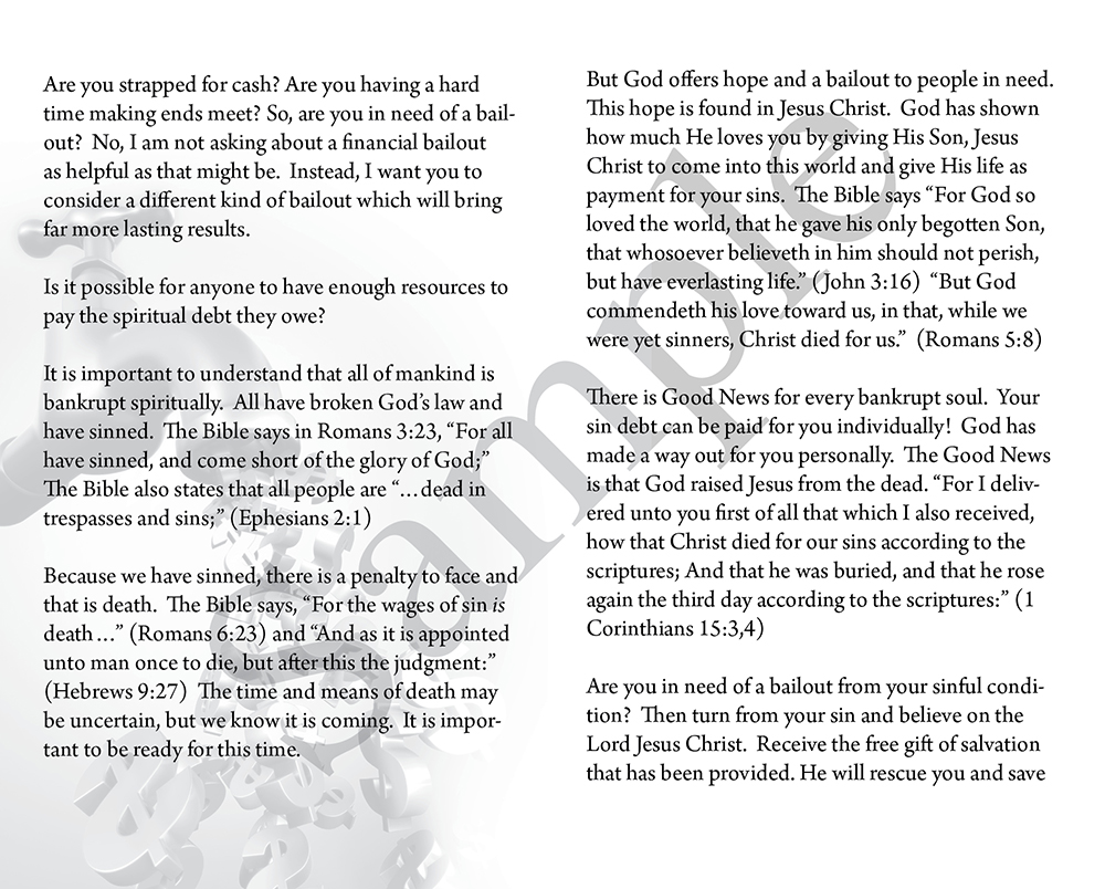 Template 18 - Baptist Tracts   Baptist Tracts