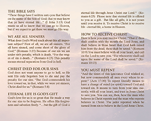 If you died tonight Baptist Tract Sample 1