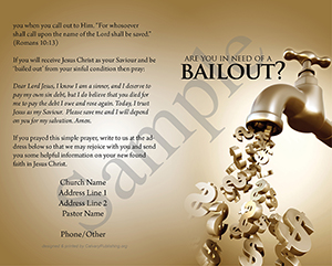 Bailout Baptist Tract