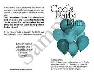 God's Party Plan Baptist Tract