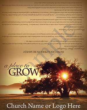 A Place to Grow Baptist Tract