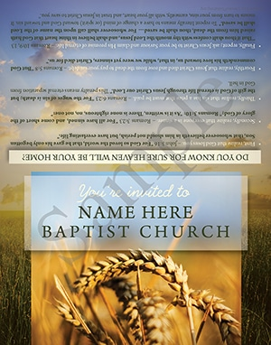 Baptist Tract Sample
