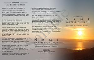 Sunset Baptist Tract