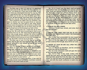 Lamb's Book of Life Baptist Tract