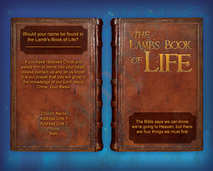 Lamb's Book of Life Baptist Tract