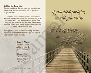 If you died tonight Baptist Tract Sample 4